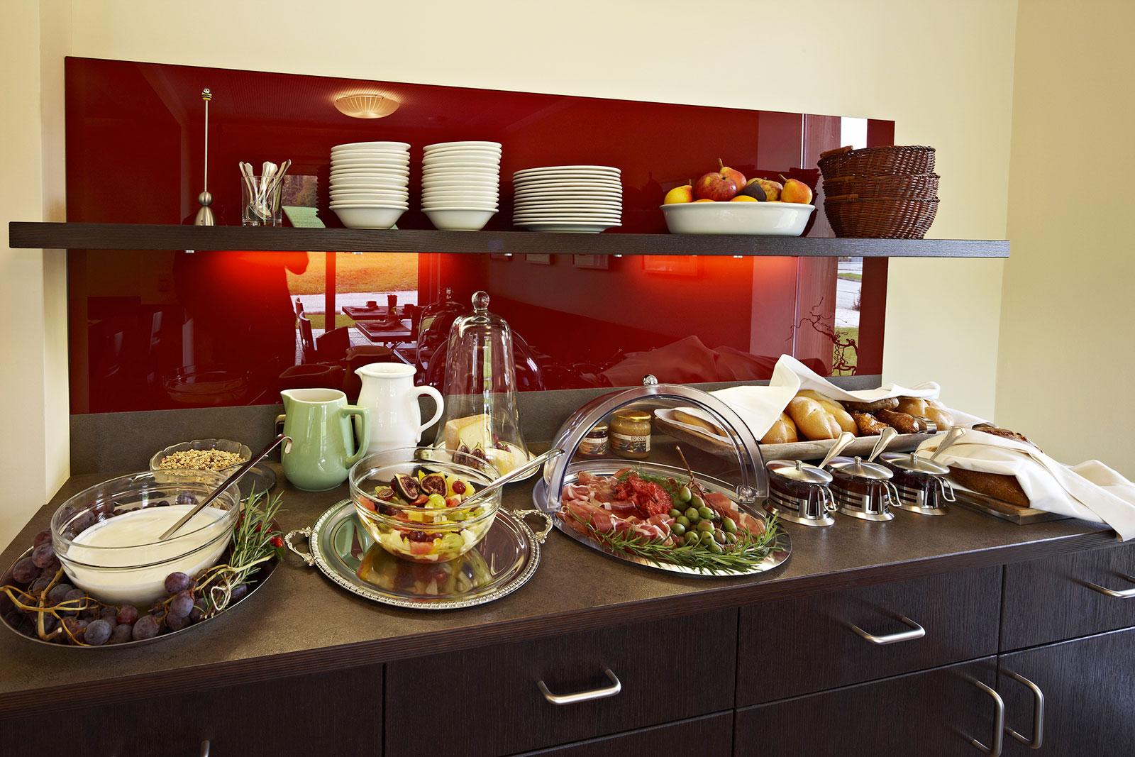 Frühstücksbuffet - Frühstück - Pension Jageredt