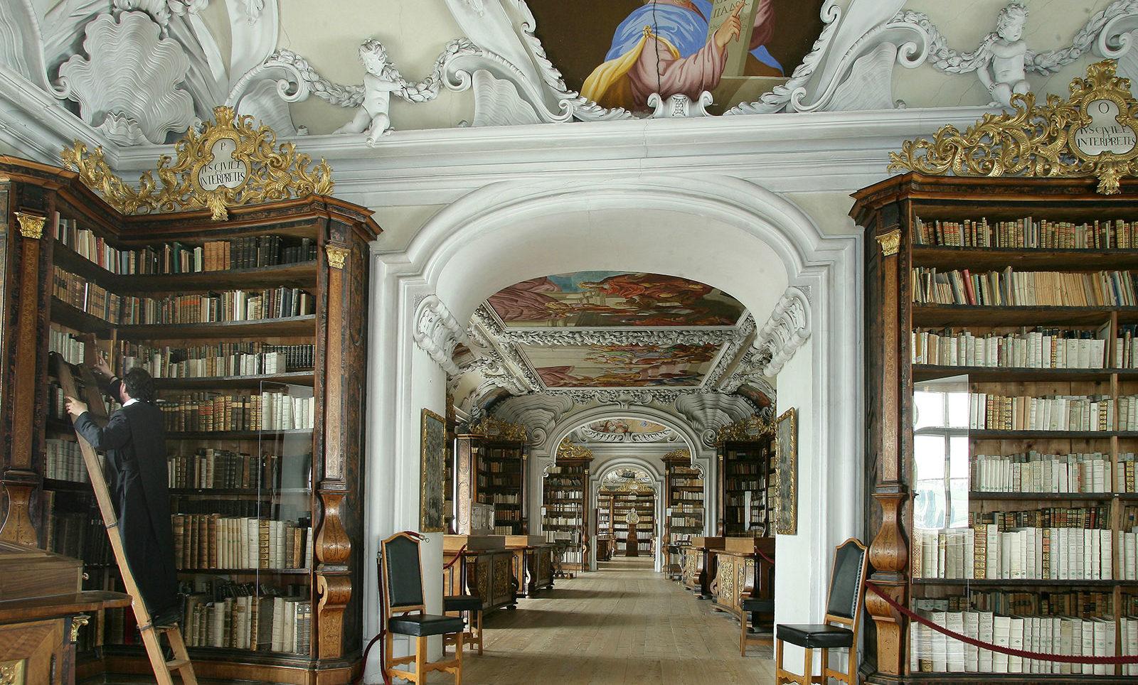 Stiftsbibliothek Kremsmuenster - Freizeit - Pension Jageredt